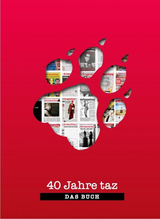 Cover-Bild 40 Jahre taz - Das Buch