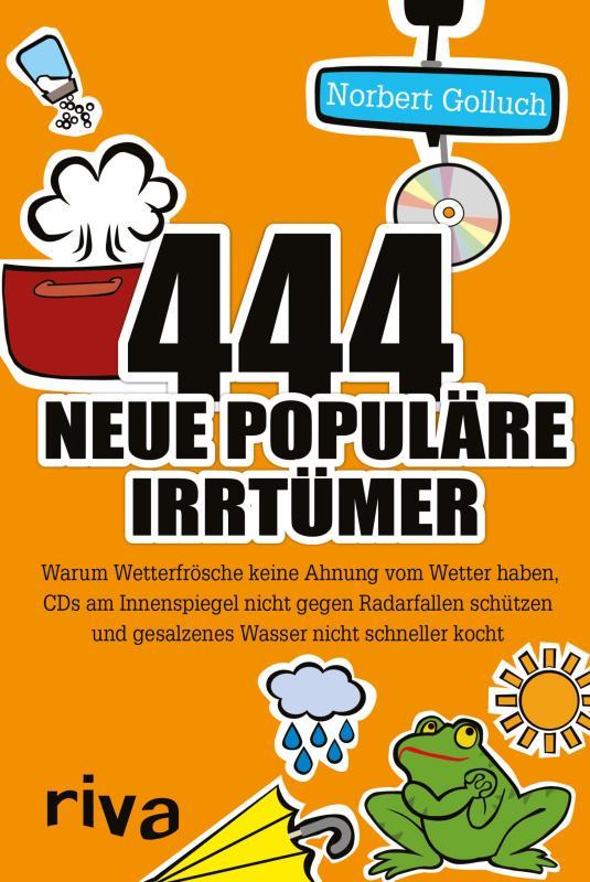 Cover-Bild 444 neue populäre Irrtümer