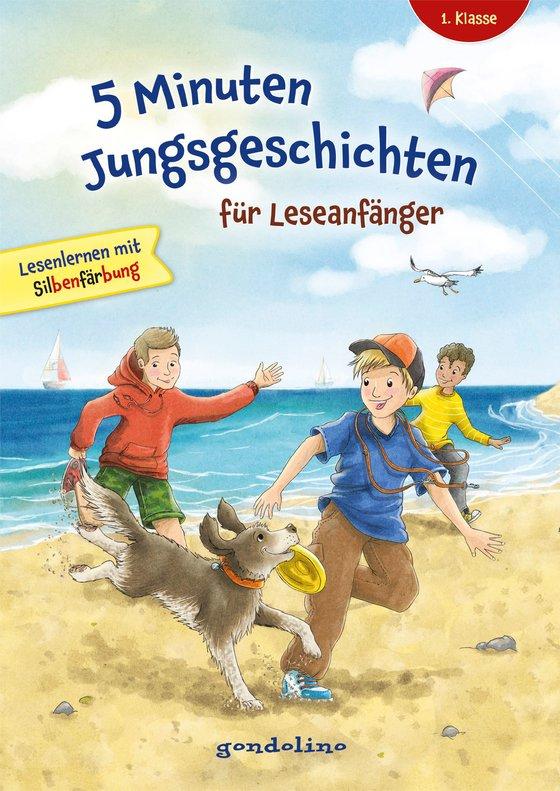 Cover-Bild 5 Minuten Jungsgeschichten für Leseanfänger