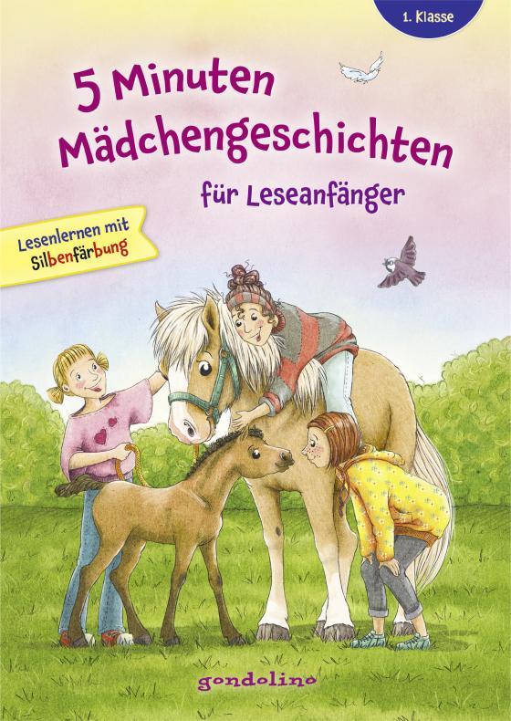Cover-Bild 5 Minuten Mädchengeschichten für Leseanfänger