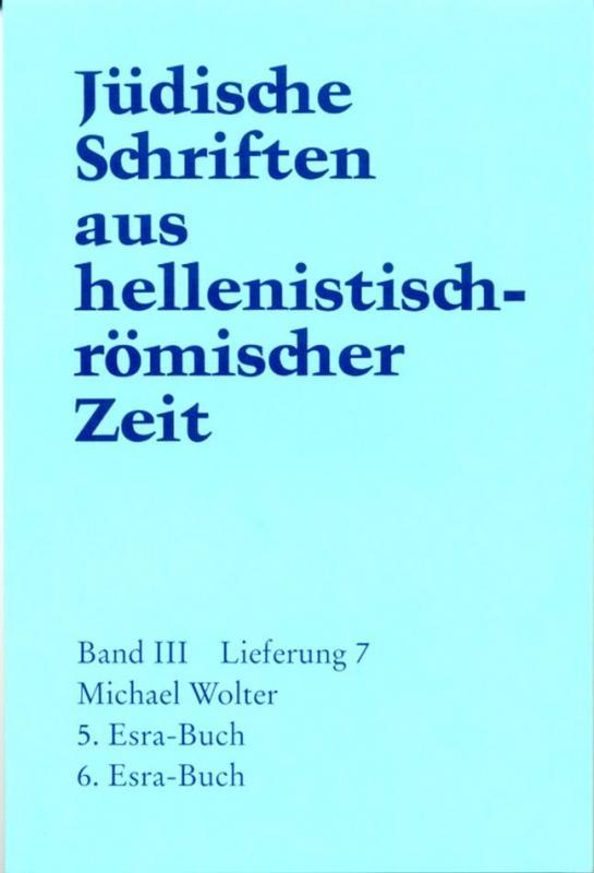 Cover-Bild 5. und 6. Esra-Buch