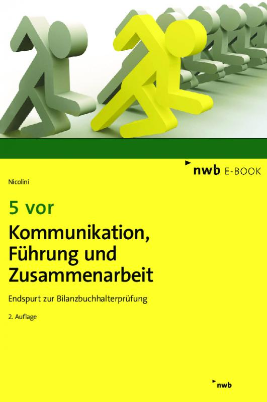Cover-Bild 5 vor Kommunikation, Führung und Zusammenarbeit