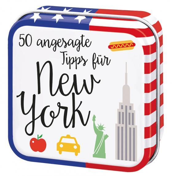 Cover-Bild 50 angesagte Tipps für New York