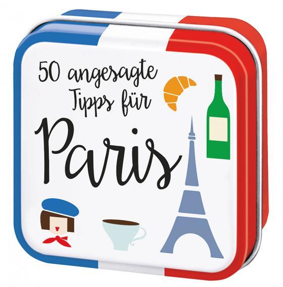 Cover-Bild 50 angesagte Tipps für Paris