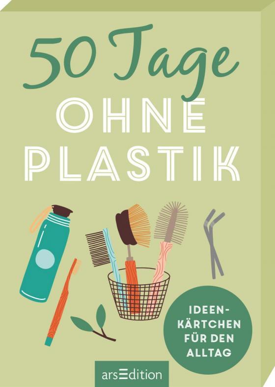 Cover-Bild 50 Tage ohne Plastik. Ideenkärtchen für den Alltag