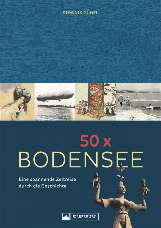 Cover-Bild 50 x Bodensee