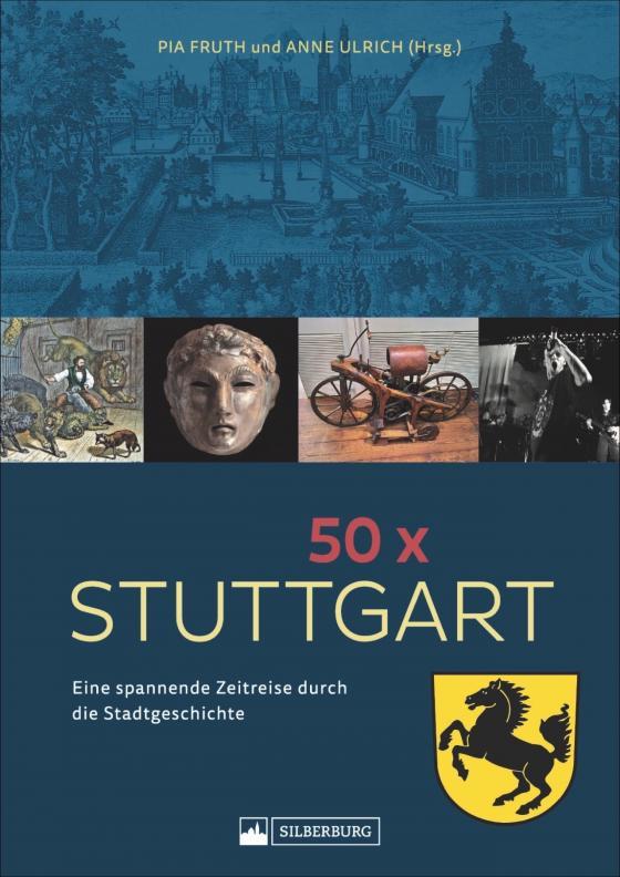 Cover-Bild 50 x Stuttgart