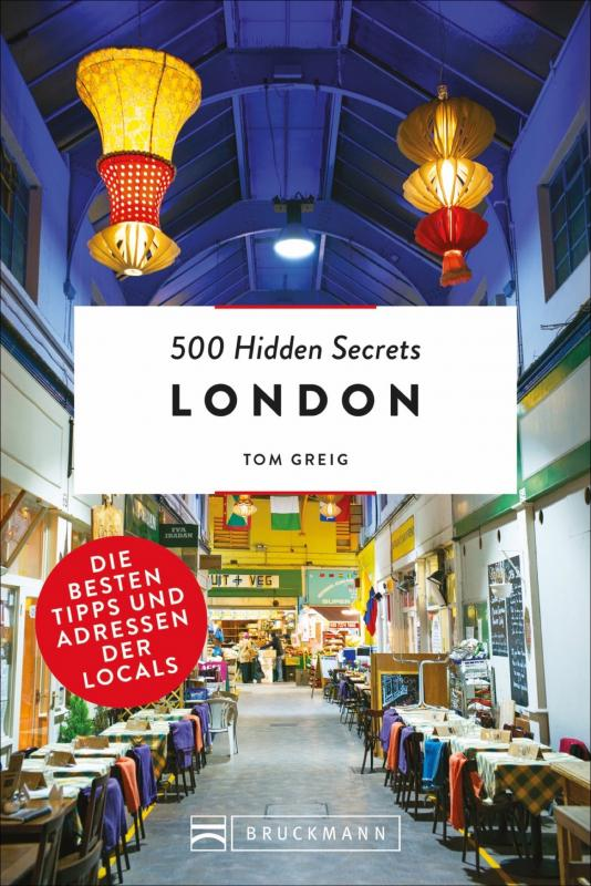 Cover-Bild 500 Hidden Secrets London