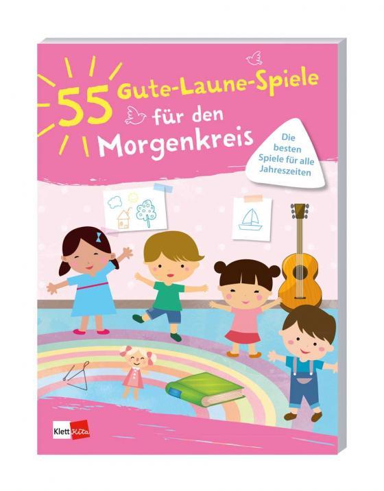 Cover-Bild 55 Gute-Laune-Spiele für den Morgenkreis