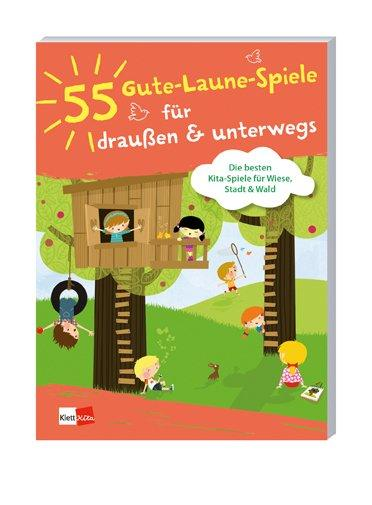 Cover-Bild 55 Gute-Laune-Spiele für draußen & unterwegs
