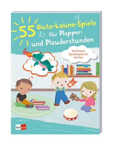 Cover-Bild 55 Gute-Laune-Spiele für Plapper- und Plauderstunden