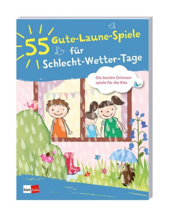 Cover-Bild 55 Gute-Laune-Spiele für Schlecht-Wetter-Tage