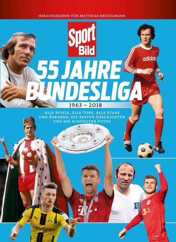 Cover-Bild 55 Jahre Bundesliga