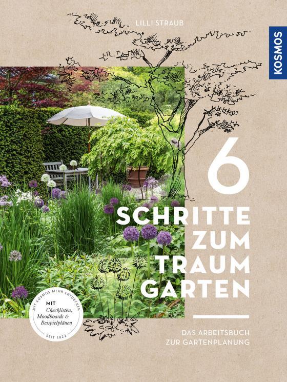 Cover-Bild 6 Schritte zum Traumgarten