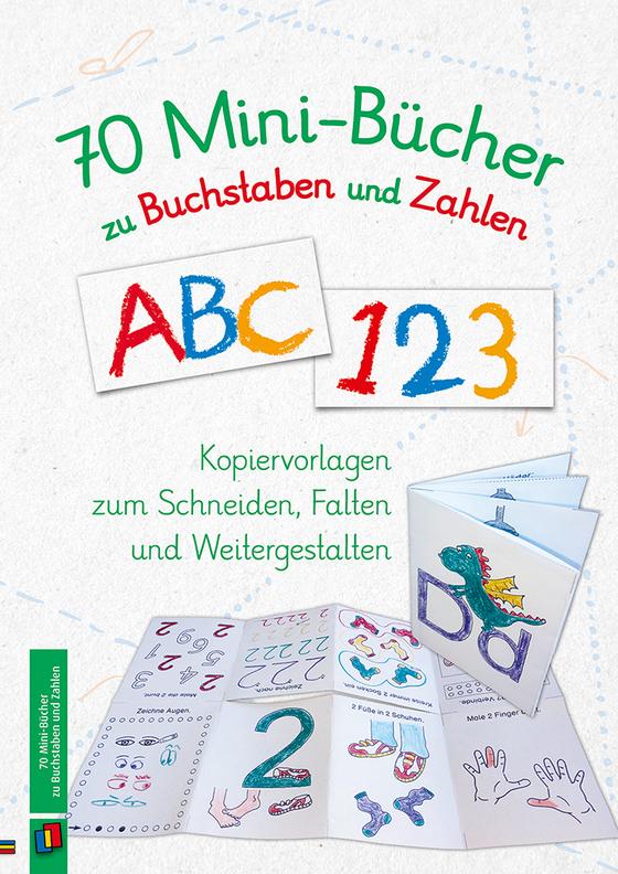 Cover-Bild 70 Minibücher zu Buchstaben und Zahlen