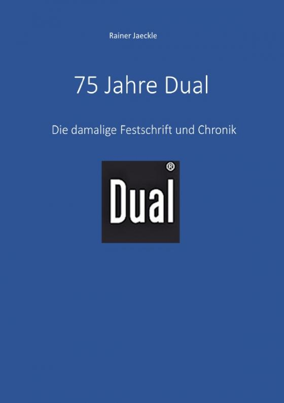 Cover-Bild 75 Jahre Dual