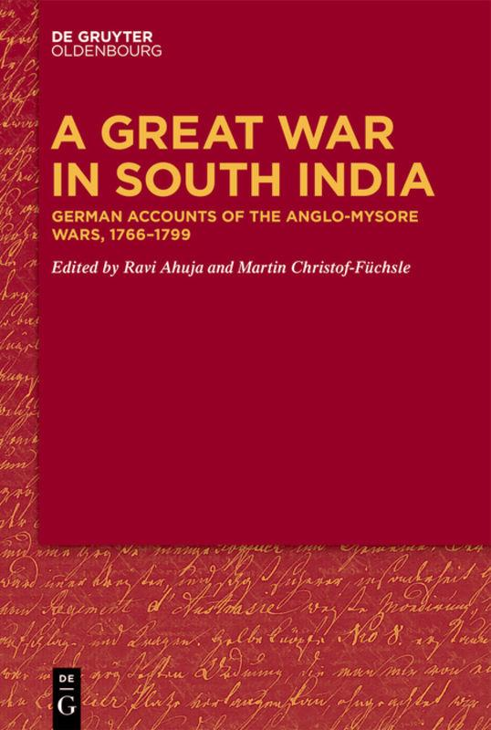 Cover-Bild A Great War in South India