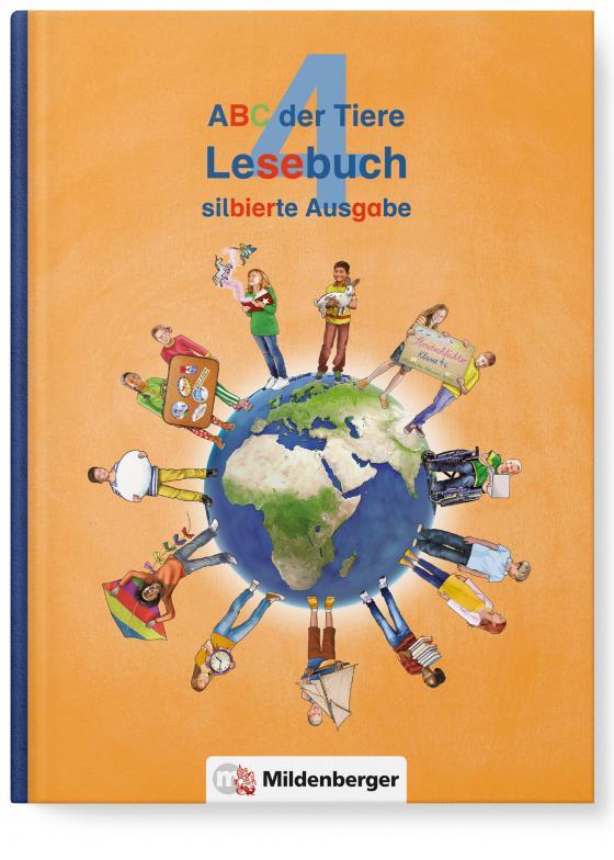 Cover-Bild ABC der Tiere 4 – Lesebuch, silbierte Ausgabe · Neubearbeitung