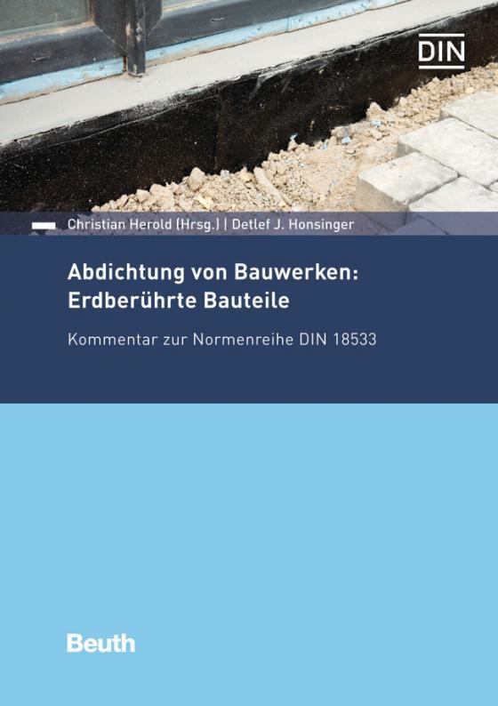 Cover-Bild Abdichtung von Bauwerken: Erdberührte Bauteile