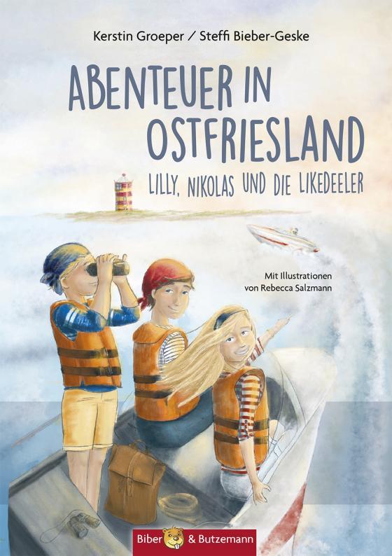 Cover-Bild Abenteuer in Ostfriesland - Lilly, Nikolas und die Likedeeler