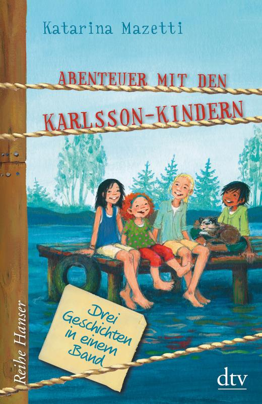 Cover-Bild Abenteuer mit den Karlsson-Kindern