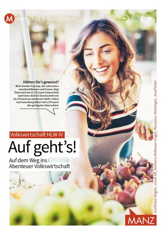 Cover-Bild Abenteuer Volkswirtschaft HLW IV | Auf geht's!