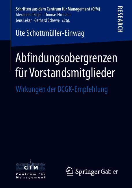 Cover-Bild Abfindungsobergrenzen für Vorstandsmitglieder