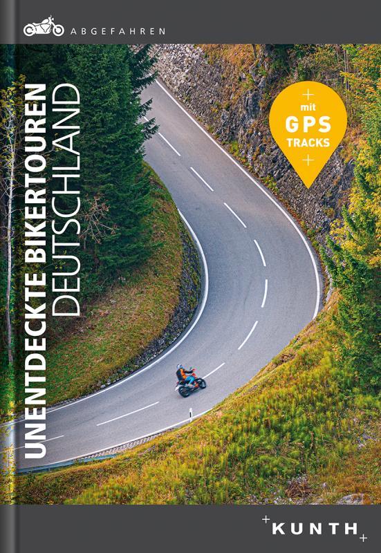 Cover-Bild Abgefahren – Unentdeckte Bikertouren in Deutschland