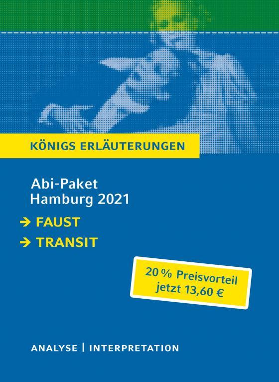 Cover-Bild Abitur Deutsch Hamburg 2021 - Königs Erläuterungen-Paket