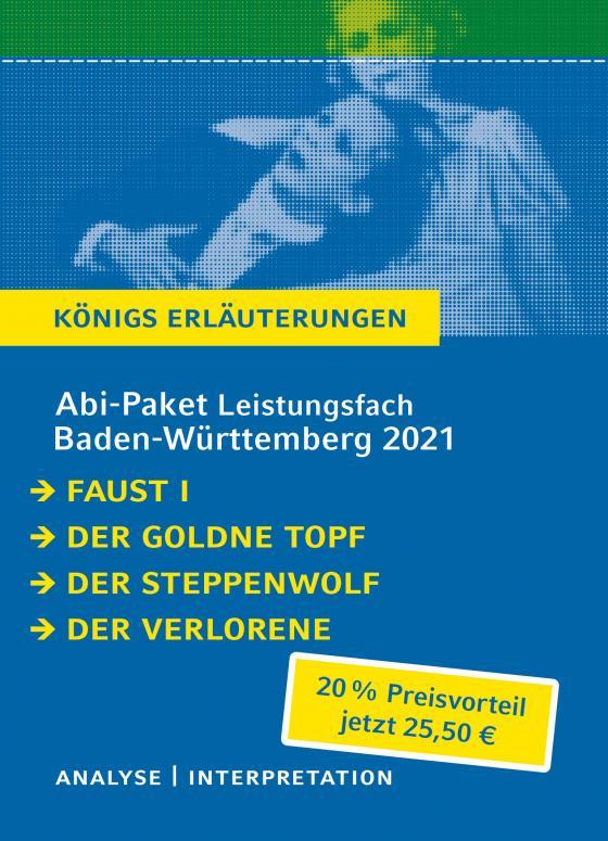 Cover-Bild Abitur-Paket Baden-Württemberg 2021 Leistungsfach - Königs Erläuterungen