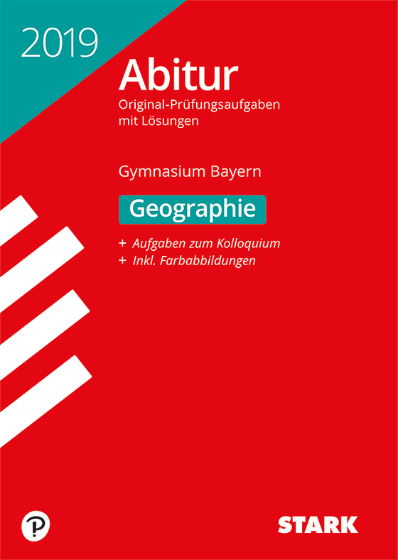 Cover-Bild Abiturprüfung Bayern 2019 - Geographie