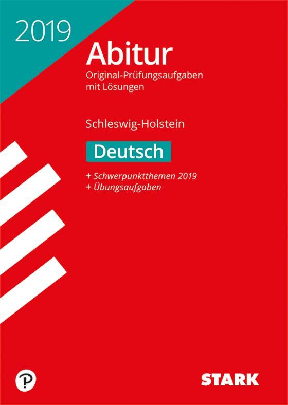 Cover-Bild Abiturprüfung Schleswig-Holstein 2019 - Deutsch