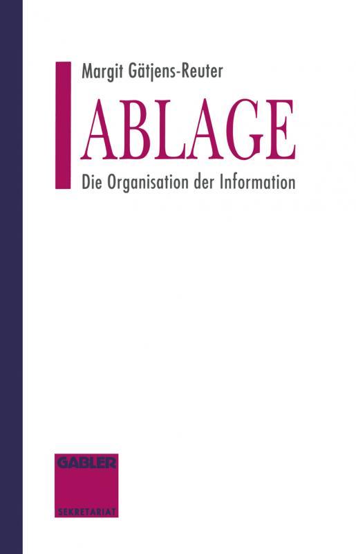 Cover-Bild Ablage