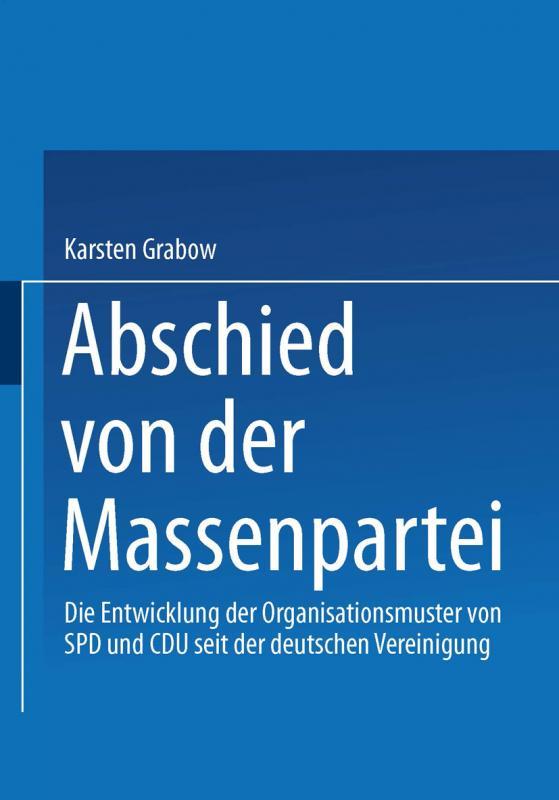 Cover-Bild Abschied von der Massenpartei