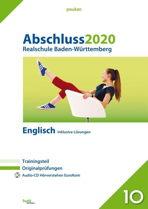 Cover-Bild Abschluss 2020 - Realschule Baden-Württemberg Englisch
