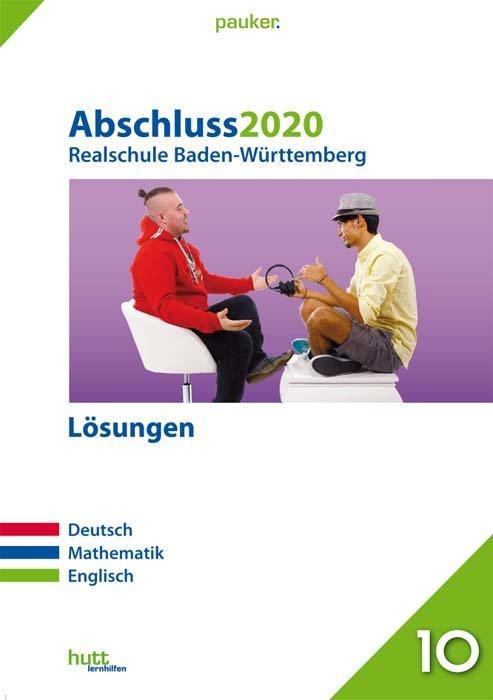 Cover-Bild Abschluss 2020 - Realschule Baden-Württemberg Lösungen