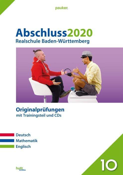 Cover-Bild Abschluss 2020 - Realschule Baden-Württemberg