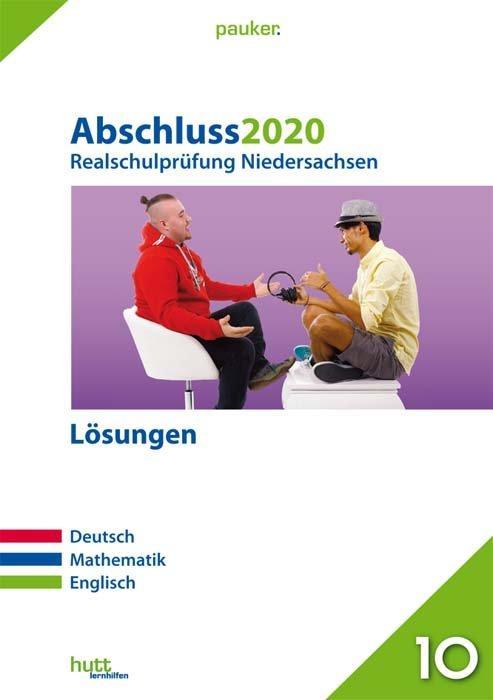 Cover-Bild Abschluss 2020 - Realschulprüfung Niedersachsen Lösungen