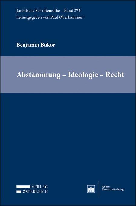 Cover-Bild Abstammung – Ideologie – Recht