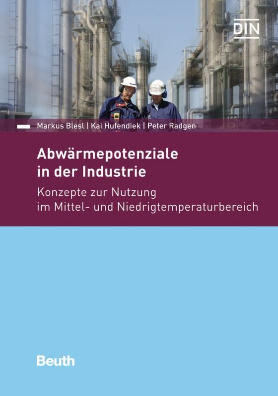 Cover-Bild Abwärmepotentiale in der Industrie