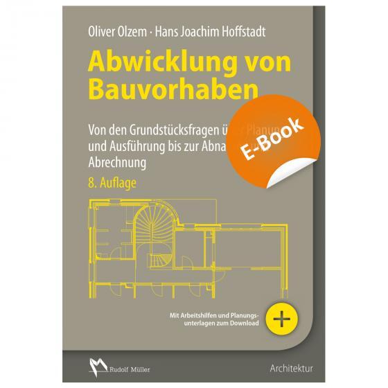 Cover-Bild Abwicklung von Bauvorhaben - E-Book (PDF)