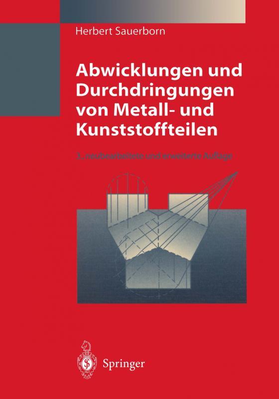 Cover-Bild Abwicklungen und Durchdringungen von Metall- und Kunststoffteilen