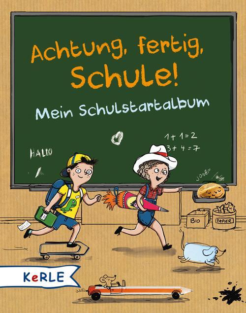 Cover-Bild Achtung, fertig, Schule!