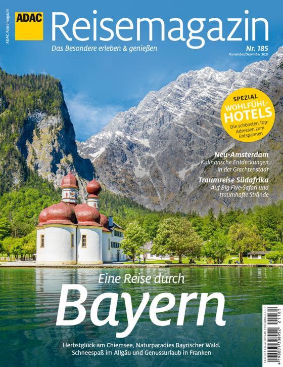 Cover-Bild ADAC Reisemagazin 10/21 mit Titelthema Bayern
