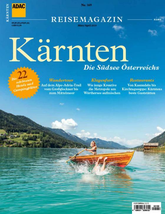 Cover-Bild ADAC Reisemagazin / ADAC Reisemagazin Kärnten