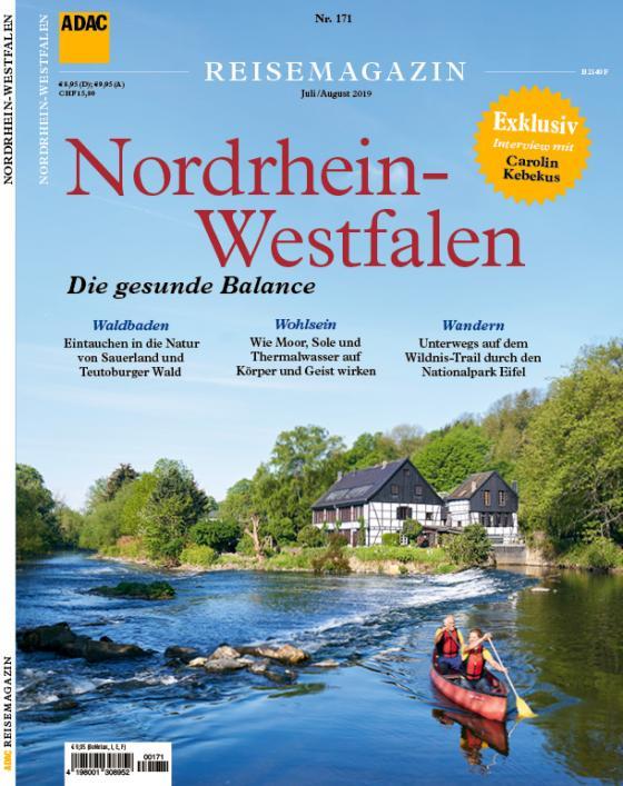 Cover-Bild ADAC Reisemagazin / ADAC Reisemagazin Nordrhein-Westfalen
