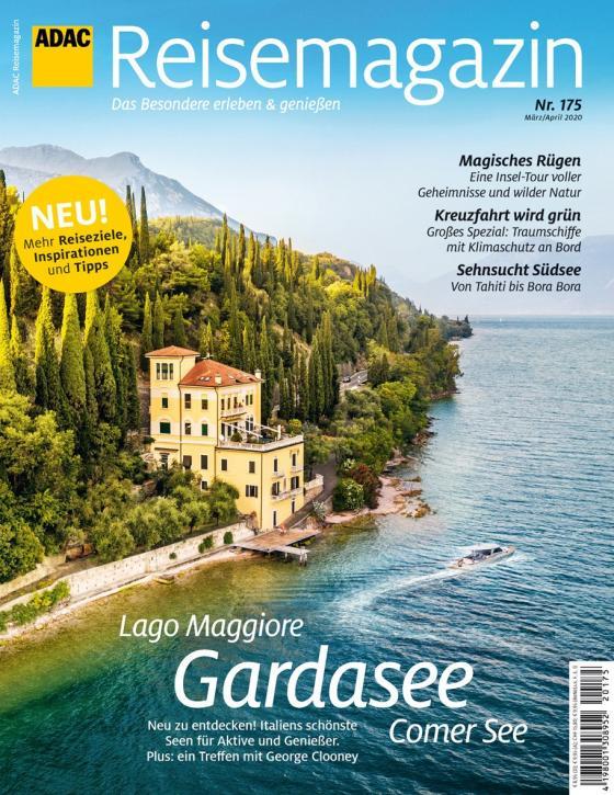 Cover-Bild ADAC Reisemagazin Ausgabe 01/2020