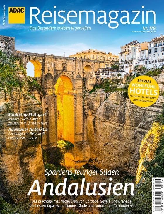 Cover-Bild ADAC Reisemagazin Schwerpunkt Andalusien