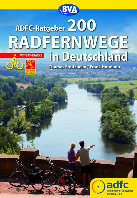 Cover-Bild ADFC-Ratgeber 200 Radfernwege in Deutschland