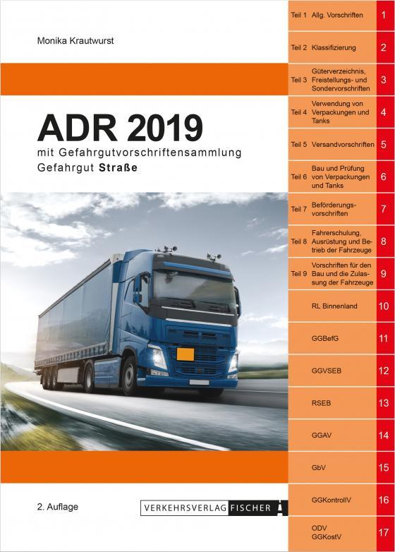 Cover-Bild ADR 2019 - 2. Auflage